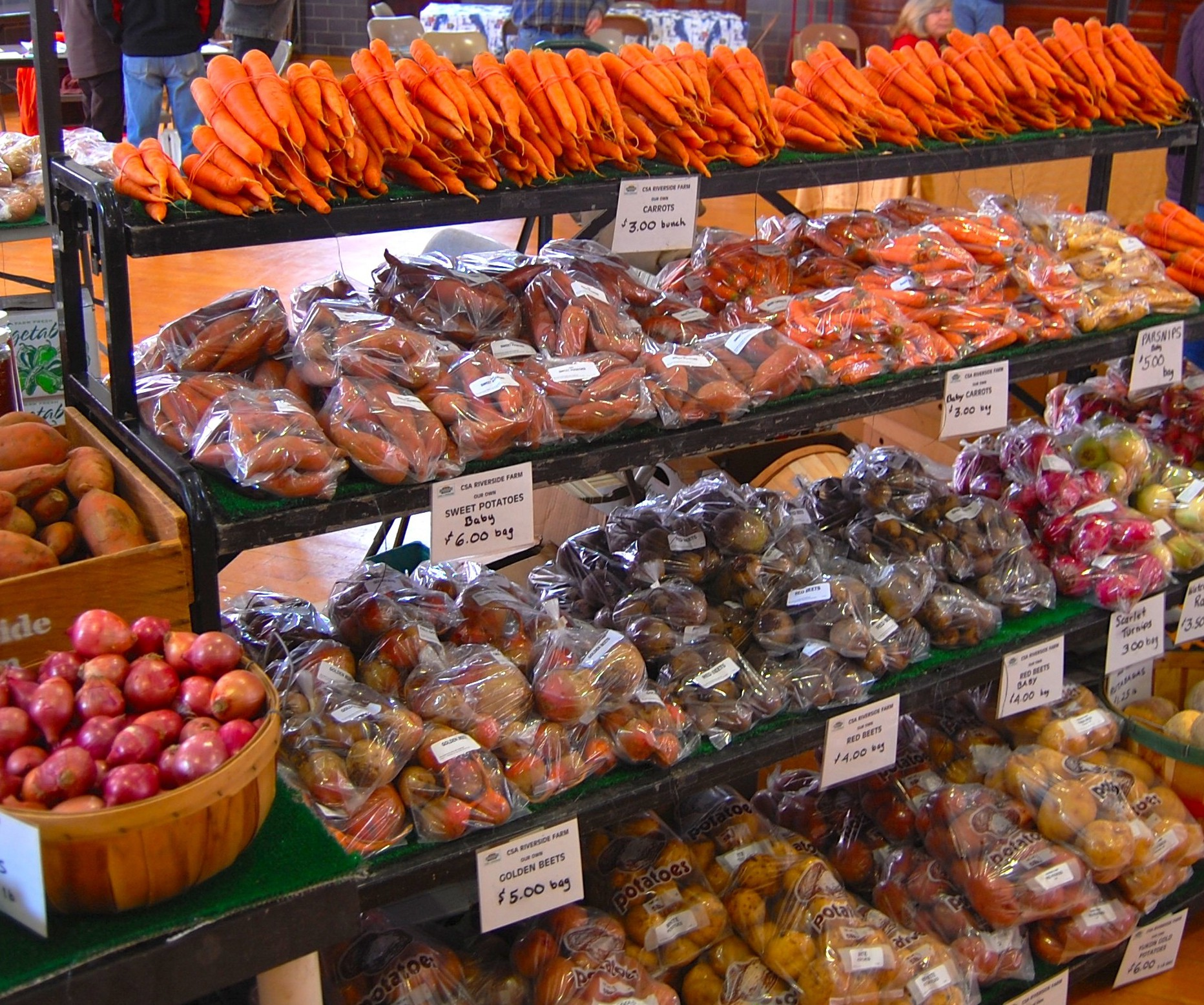 Who's at the market – Berwick Winter Farmers' Market