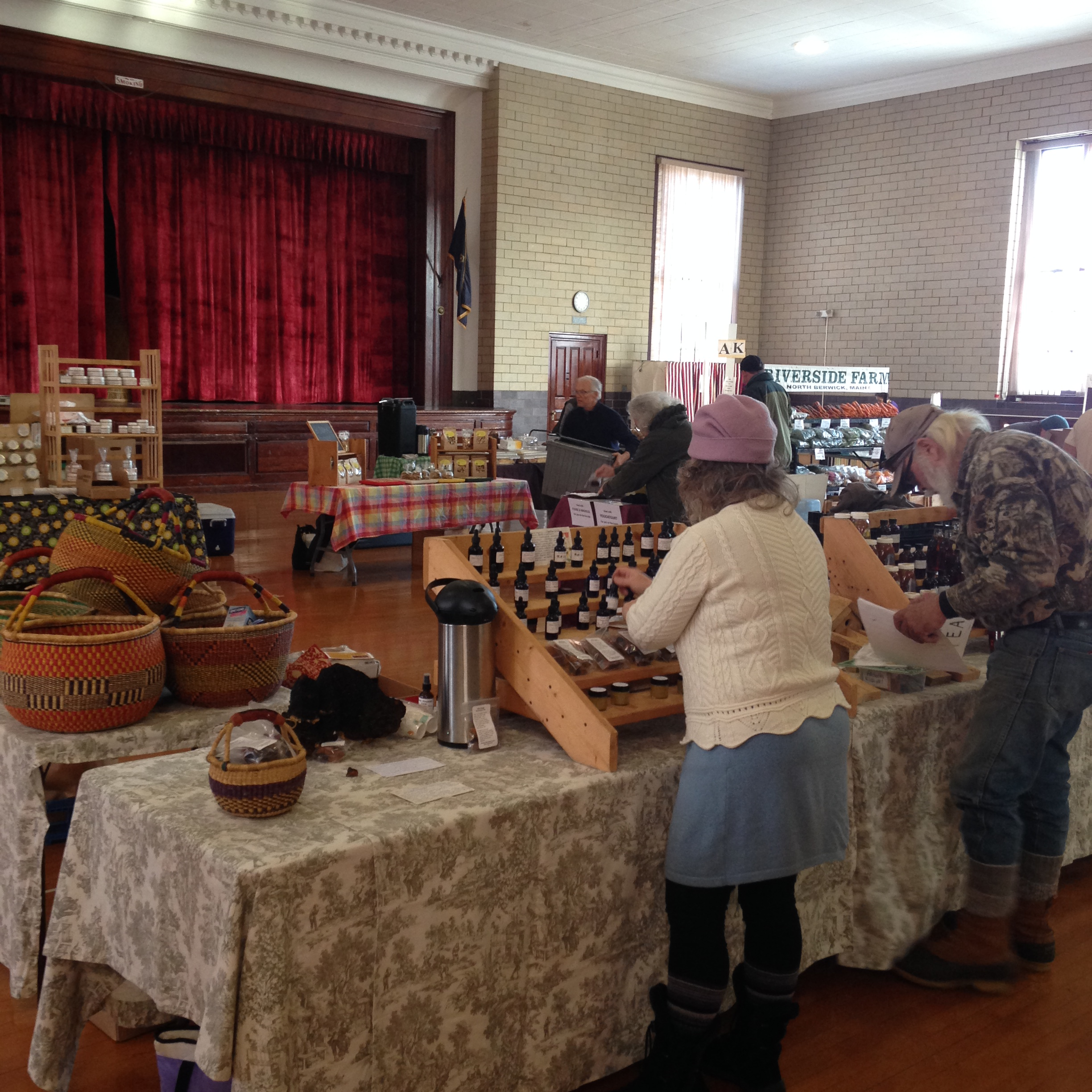 Berwick Winter Farmers' Market – farms, food, community